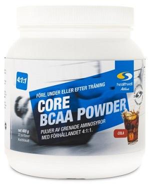 Ett BCAA pulver från Core